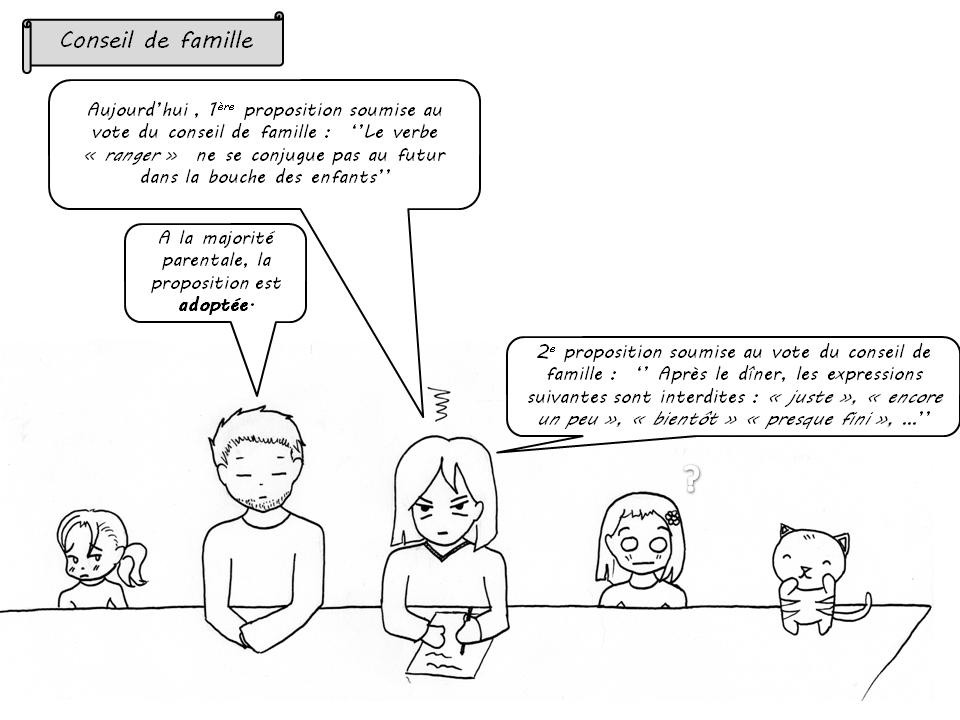 BD conseil de famille